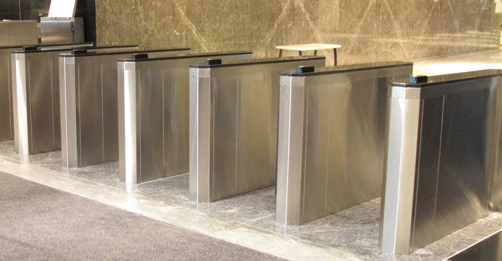Model 152SF Optical Turnstiles